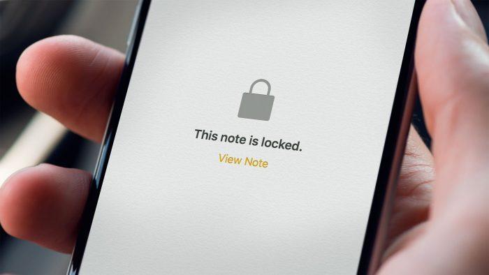 Proteja sus notas con una contraseña en iOS 9.3