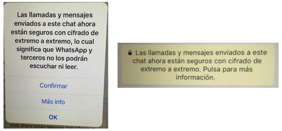 Mensajes-WhatsApp-Encripcion
