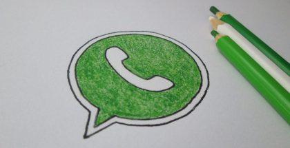 Ícono de WhatsApp dibujado