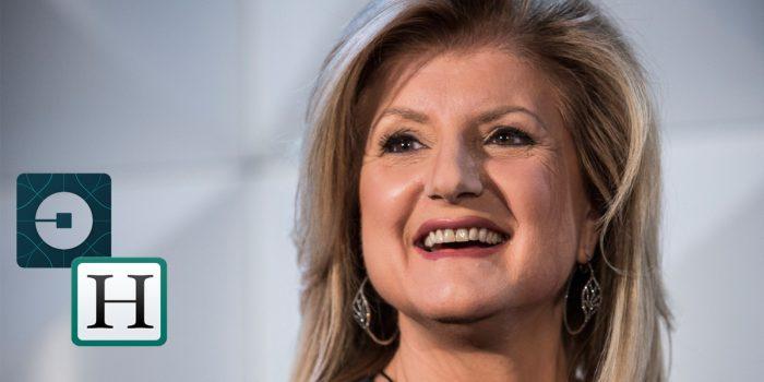 Arianna Huffington ahora conduce en Uber