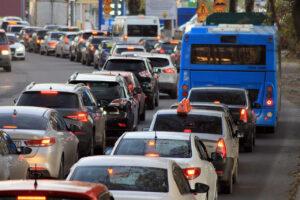 Tráfico y falta de movilidad