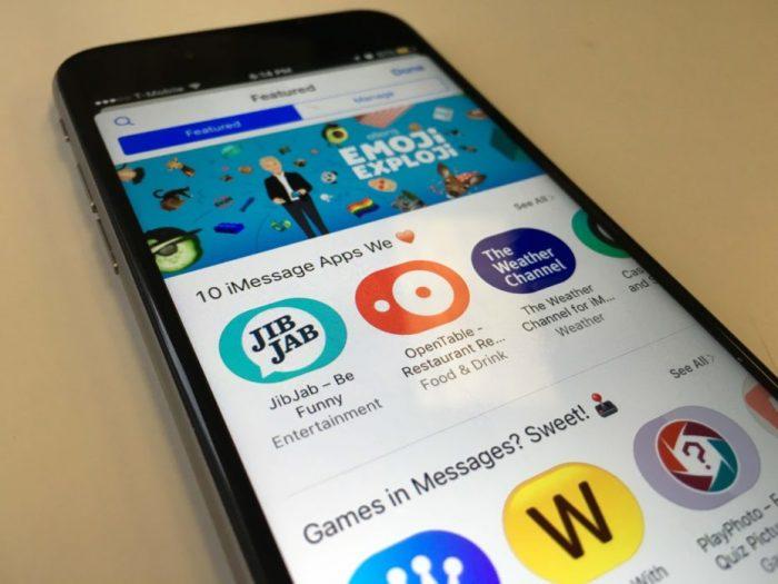 ¿Por qué lanzaría Apple una tienda de Stickers?