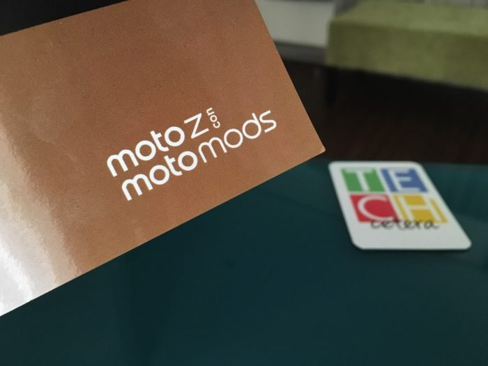 #MotoZ: Hardware y Software actualizable!
