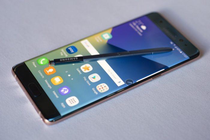 Cómo saber si su Galaxy Note 7 es seguro