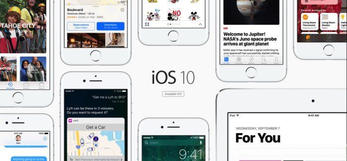 Como preparar su iPhone para iOS10