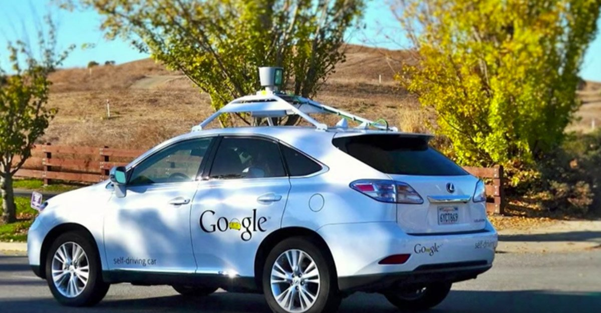 Auto de Google con sistema autónomo