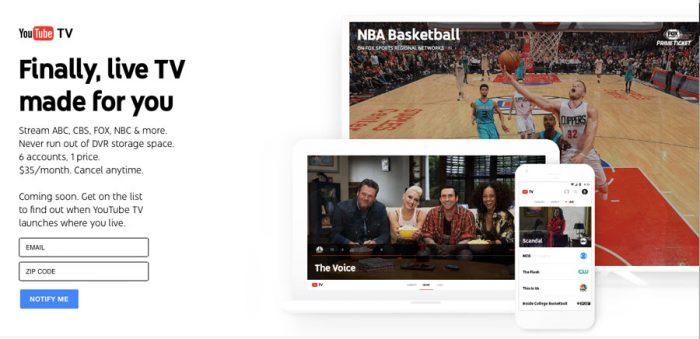 #YouTubeTV: será la opción para cortar el cable (por fin)?