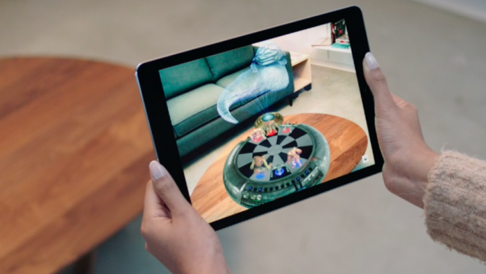 iOS será la plataforma de Realidad Aumentada más grande del mundo (en 2 meses)