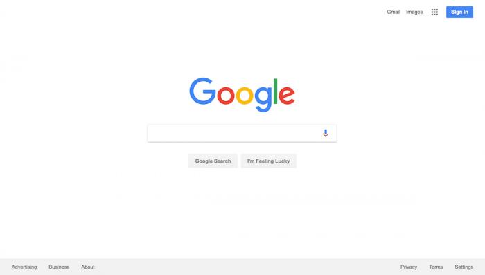 EdTECH: Google y su famosa página blanca- Un espacio para aprender