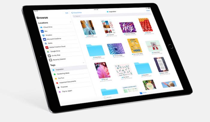 Cómo iOS 11 optimiza el almacenamiento de su iPad