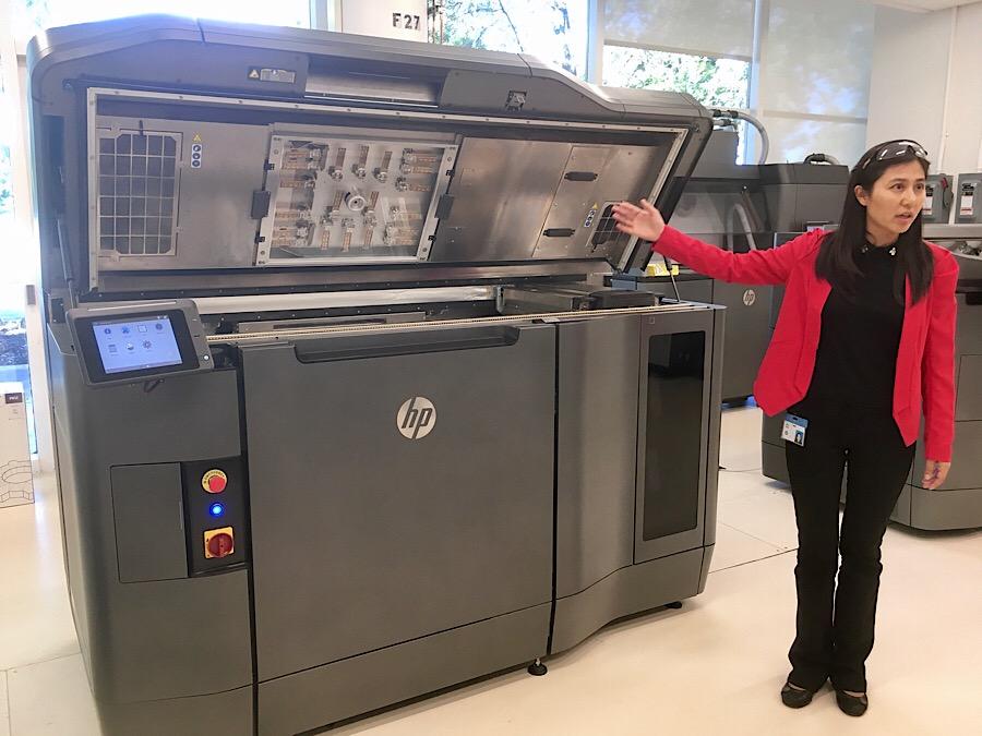 Máquinas de #HP3DPrint