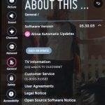 Revisa la versión de WebOS 3+