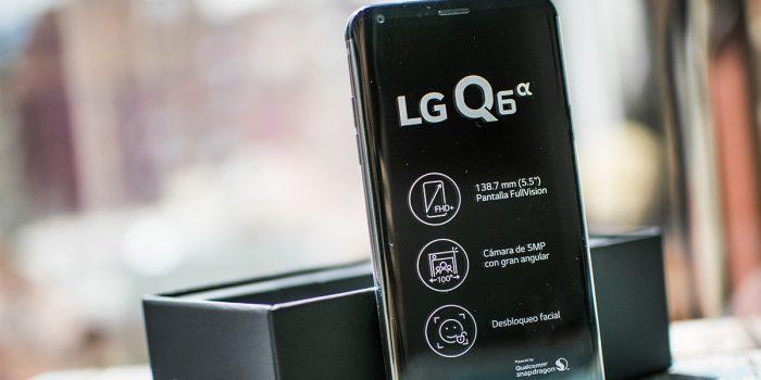 LG Q6 Alfa: cuando ingenio y diseño se encuentran.