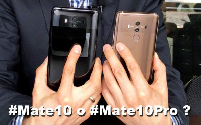 Mate 10 y Mate 10 Pro: parecidos pero no iguales!