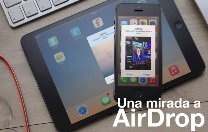 AirDrop: la mejor forma de compartir archivos en el ecosistema Apple