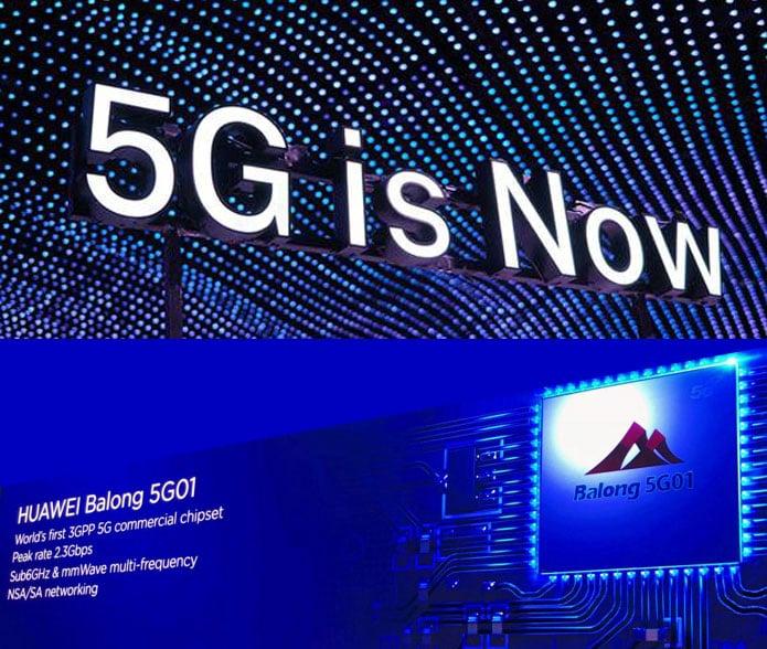 Huawei lanza Balong 5g01: el primer chip #5G para uso comercial!