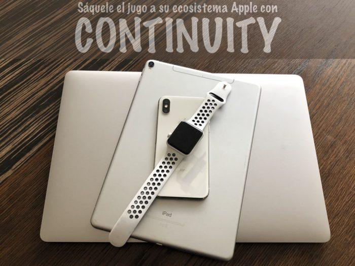 En Apple la productividad se llama Continuidad