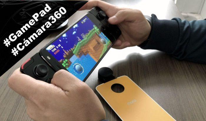 Mods: Experiencia de uso del #GamePad y la #Cámara360 para Moto Z