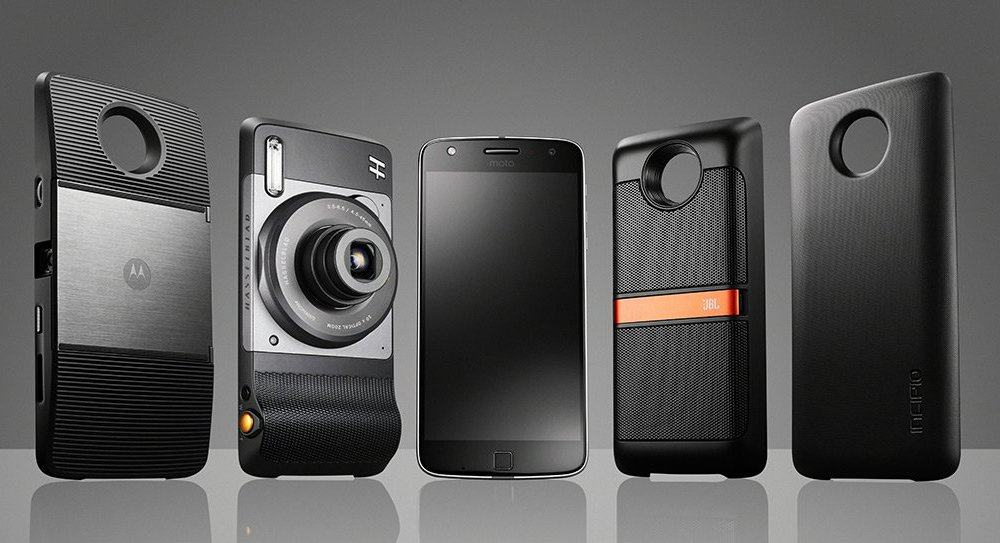 Moto Mods iniciales