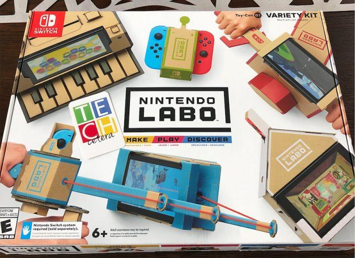 Primera vista al Nintendo Labo