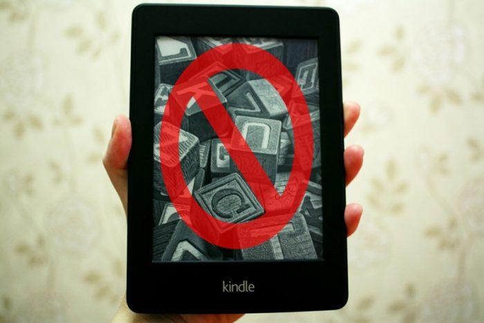 La aplicación de Kindle lo limita? No lo deja leer donde usted quiere?
