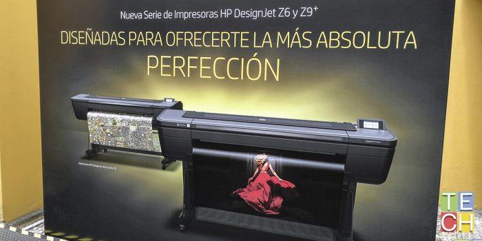 Hay ideas que no caben en una hoja de papel. Las HP DesingJet Z6 y Z9+