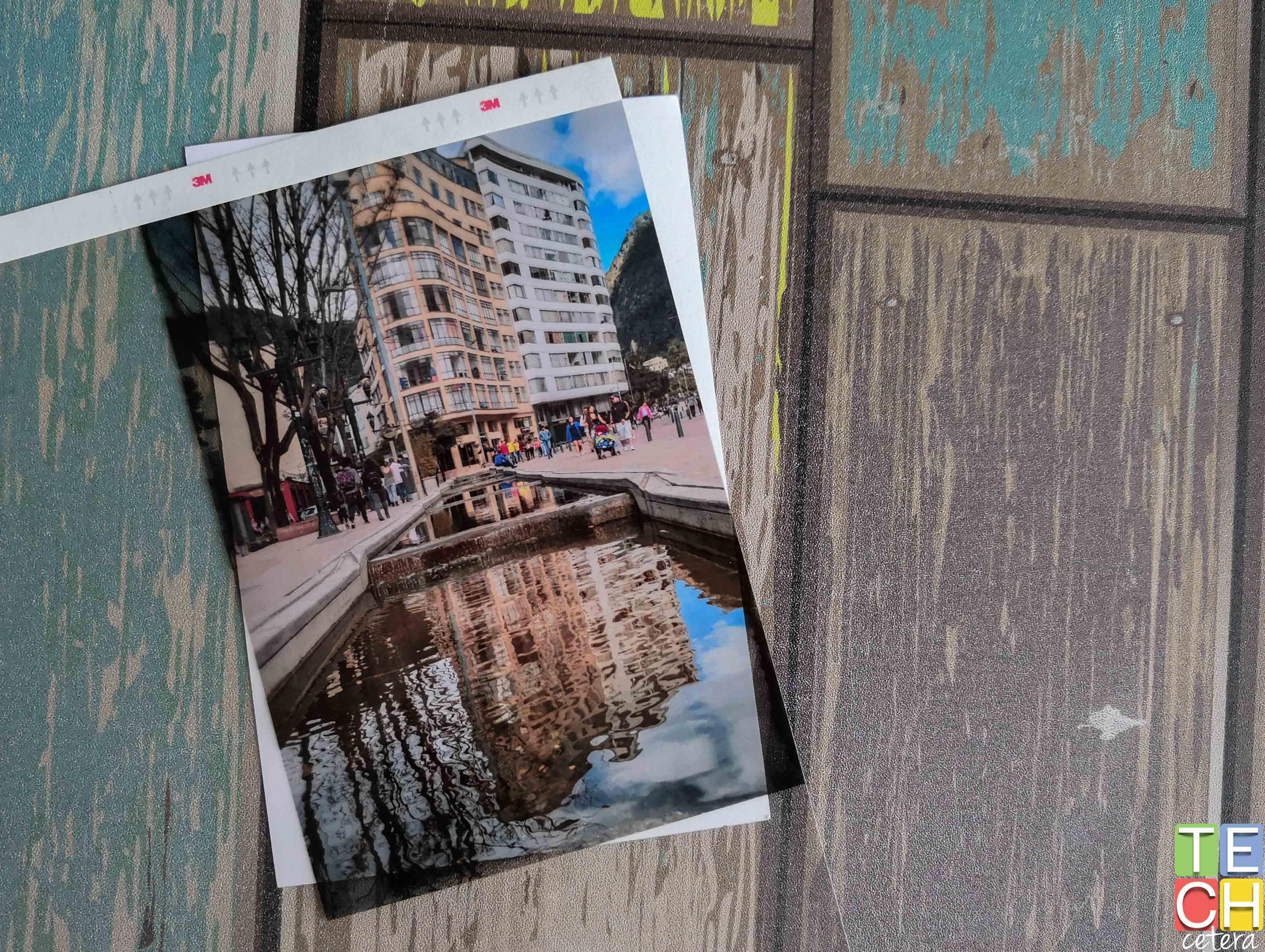 Foto impresa de la avenida Jiménez en alta calidad