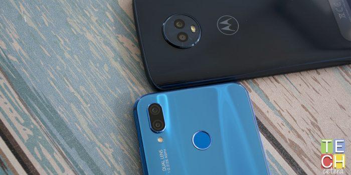 Huawei P20 lite Vs Moto G6? Cuestión de Enfoque!