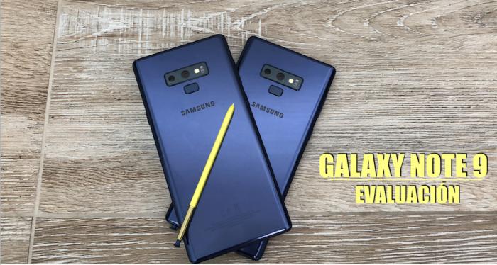 Galaxy Note 9 – Nuestra Evaluación