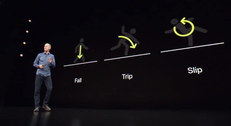 El Apple Watch desde el Series 4, detecta cuándo el usuario ha sufrido una caída