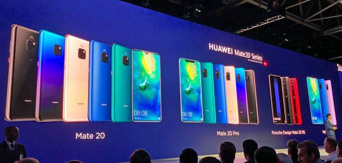 Familia de Huawei Mate 20