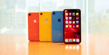 Distintos modelos de iPhone