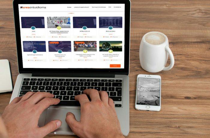 Crea en tu idioma: la plataforma para mejorar sus talentos en línea!