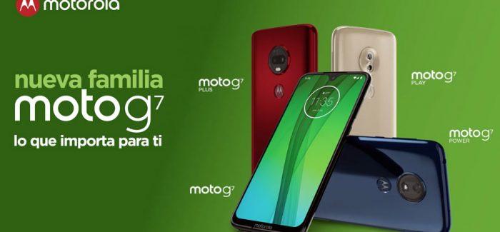 Moto G7: Ya son 4 miembros en esta bonita familia!