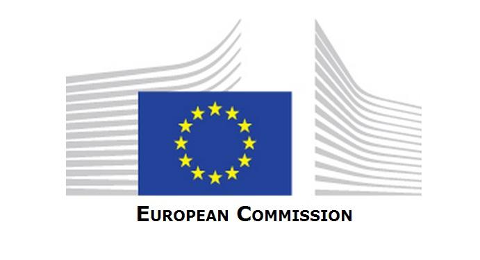 Logo de la comisión Europea