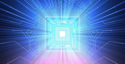 Icono de computación cuántica