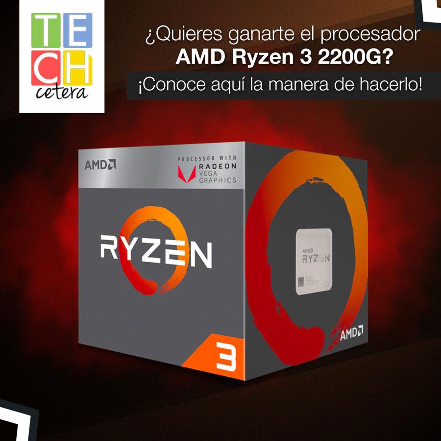 Concurso de TECHcetera con AMD