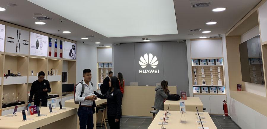Tienda Huawei en Bogotá, Colombia