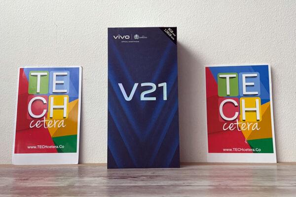vivo V21 caja