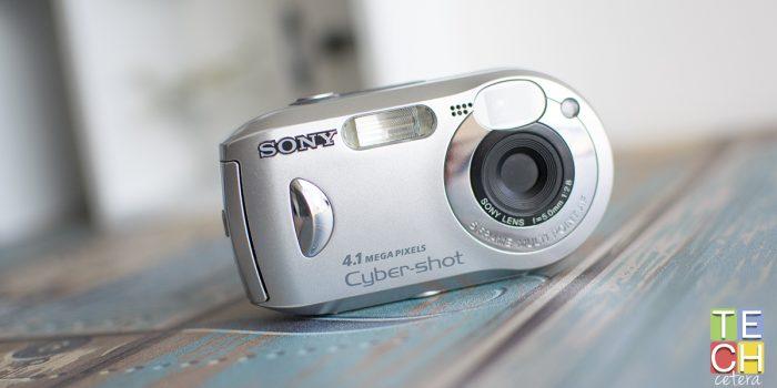 ¿4 Mpxs son suficientes? Retro Reseña la Sony DSC-P43