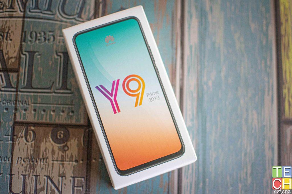 Caja del Huawei Y9 Prime 2019