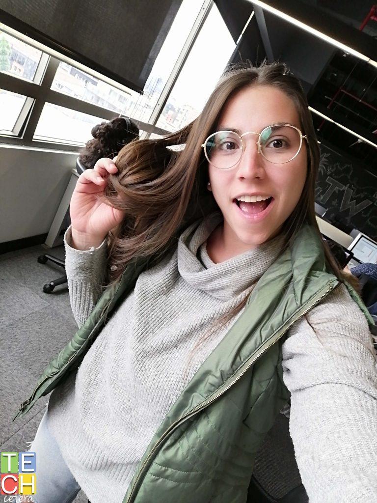 Selfie con luz en el Huawei Y9 Prime 2019