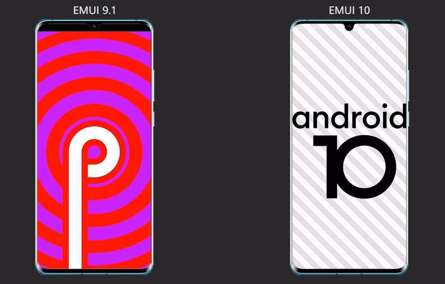 EMUI 9 vs EMUI 10