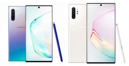 Nuevos Galaxy Note 10