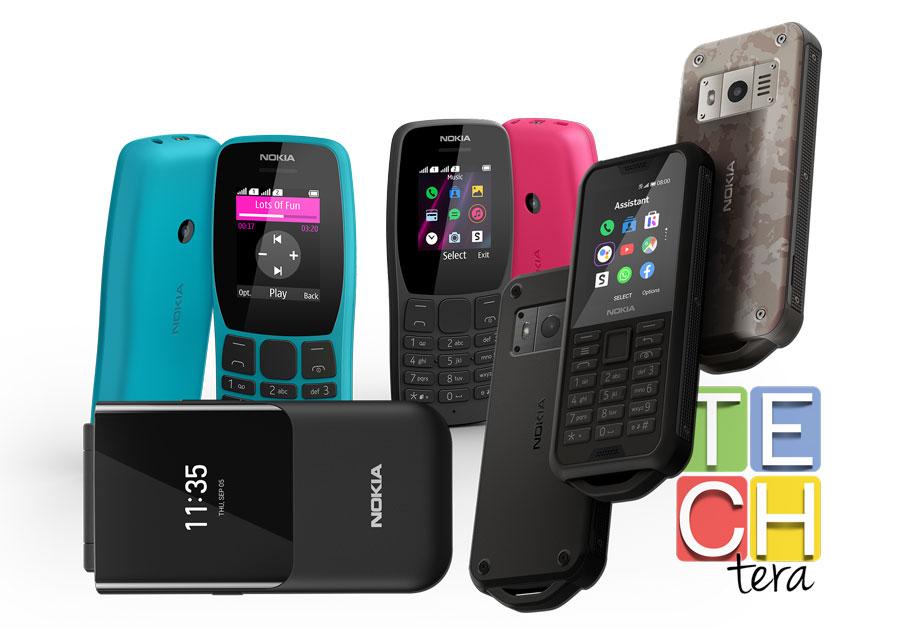 Teléfonos básicos de Nokia