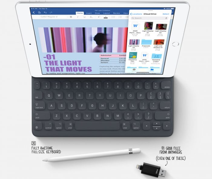 ¿Cómo leer el contenido de una USB en iPadOS?