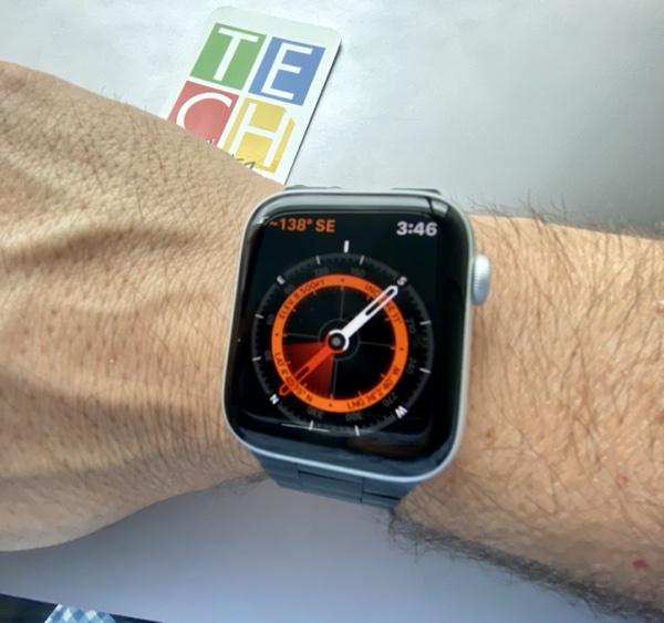 Brújula digital y sensor de altitud en el nuevo Apple Watch Serie 5