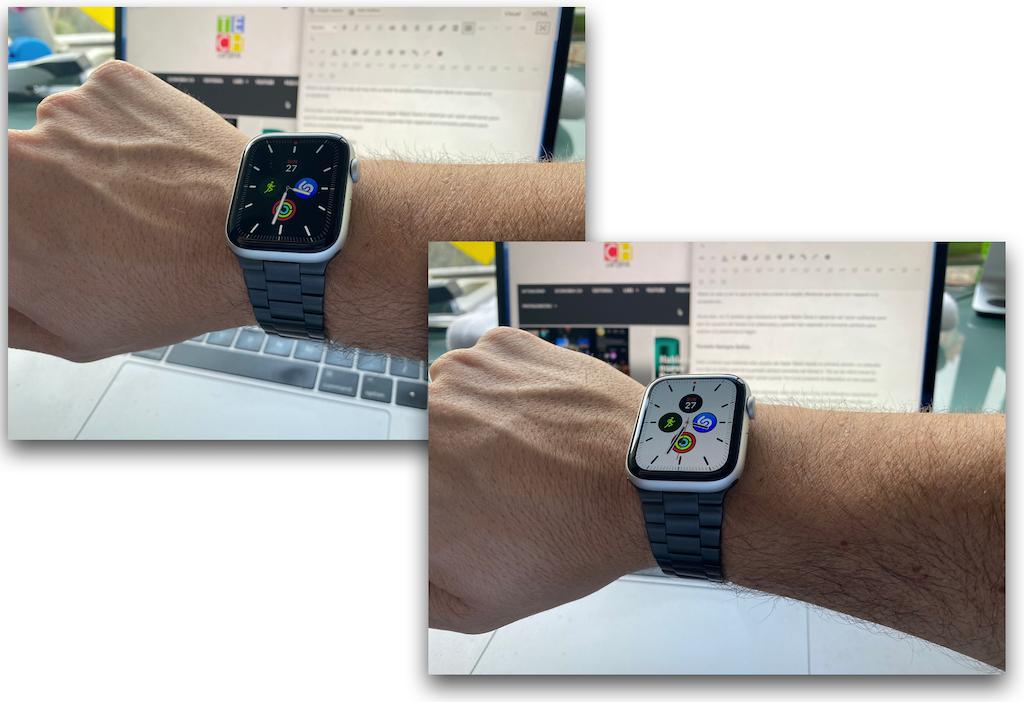 Apple watch Serie 5: Pantalla inactiva vs. Pantalla activa