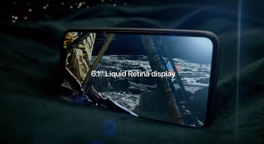 Pantalla liquid retina del iPhone 11
