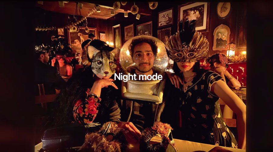 Modo noche del iPhone 11
